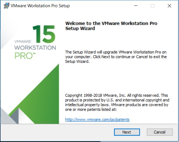 VMware Workstation 15 Installation – Setup Wizard