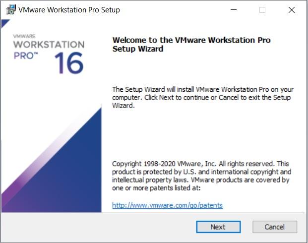 VMware Workstation 16 Installation – Setup Wizard