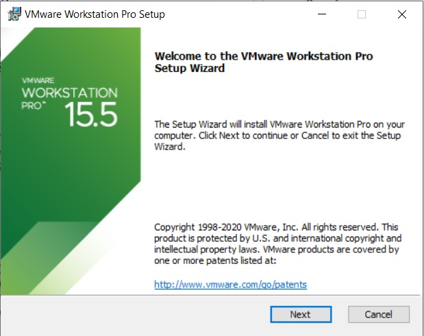 VMware Workstation 15.5 Installation – Setup Wizard