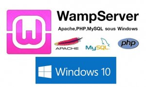 Image of WAMP server and windows 10