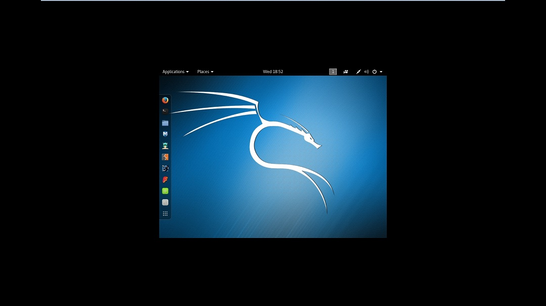 Kali Linux desktop VMware no full screen - Resolution 800x600