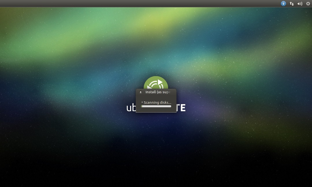 Ubuntu Mate installation progress screenshot.