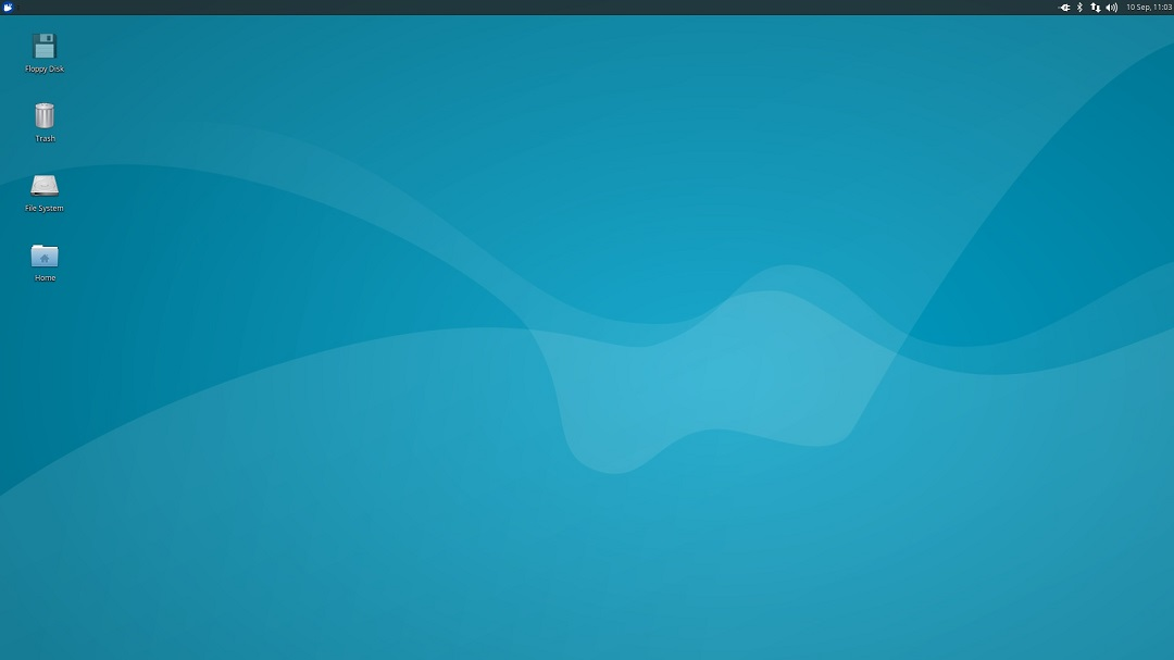 Xubuntu Desktop screenshot