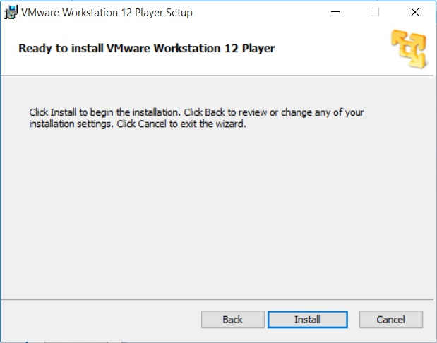 VMware Workstation 12 - ready to install