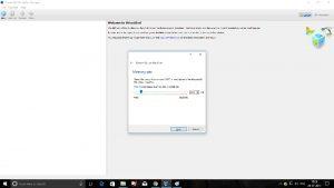 VirtualBox New Virtual Machine setup - specify memory size dialog box screenshot