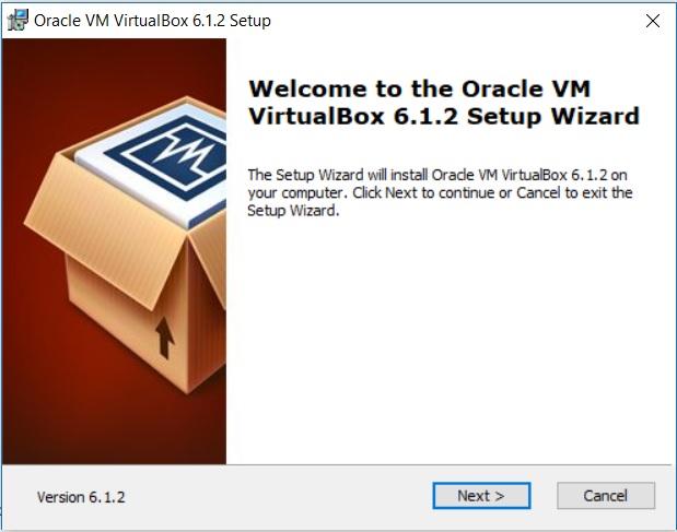 Virtual Box Installation - Setup Wizard