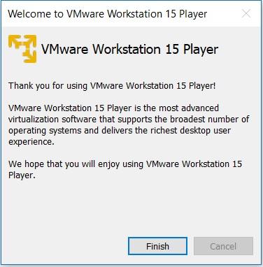 vmware player 15