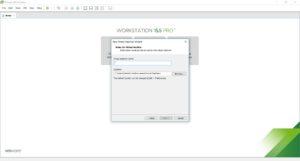 VMware Workstation - Install New Virtual Machine - Virtual machine name