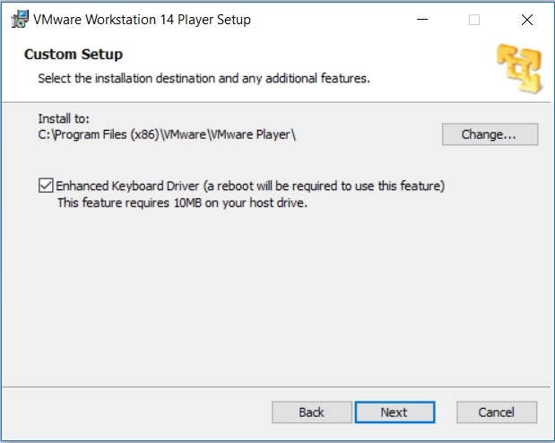 How to Install VMware Workstation Player 14 in Windows