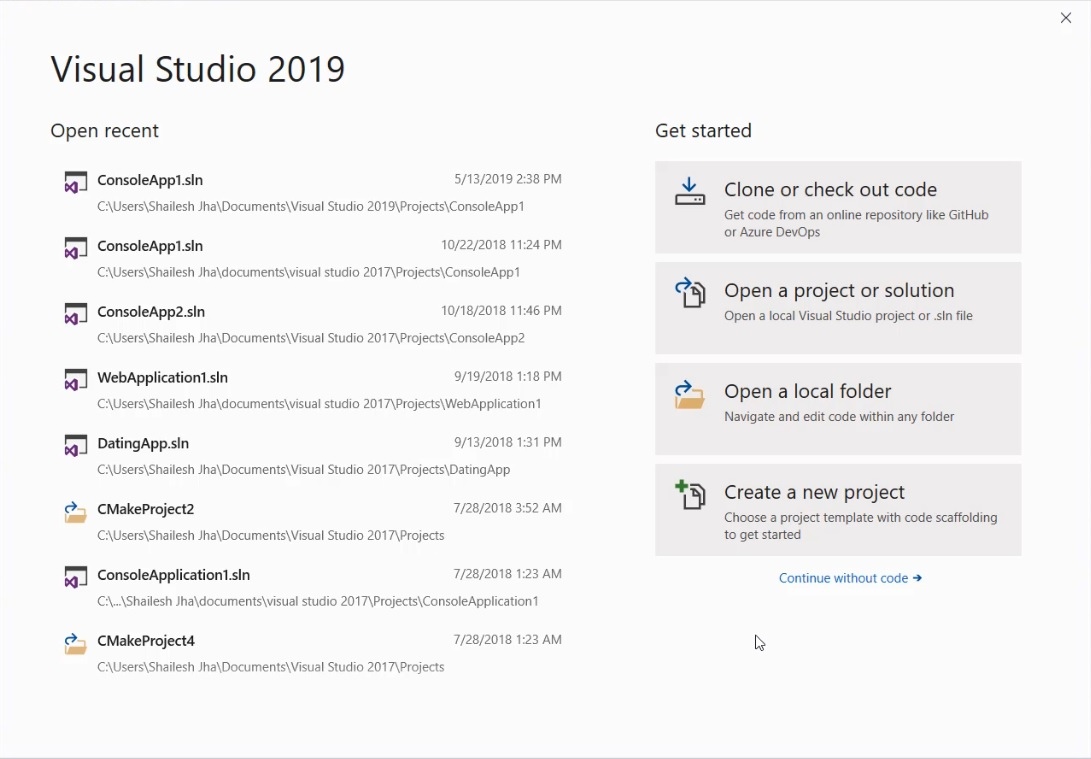 How to install and activate Visual Studio 2019 Enterprise
