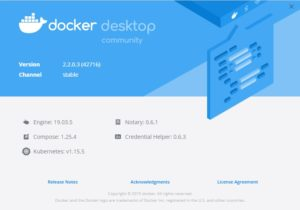 Docker Installation details