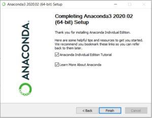 Anaconda Installation Complete Message