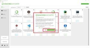 Anaconda Navigator - Desktop GUI