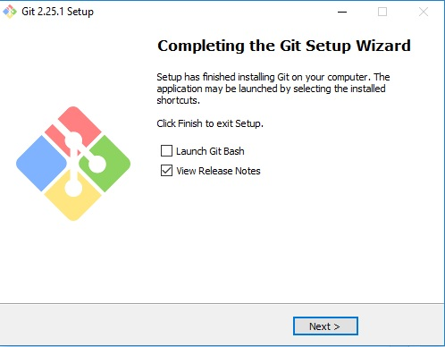 Git scm setup