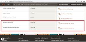 Java SE 14 Download Page